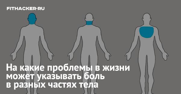 Подсказки тела: боли в разных частях тела могут означать серьезные болезни