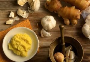 ginger-garlic-past