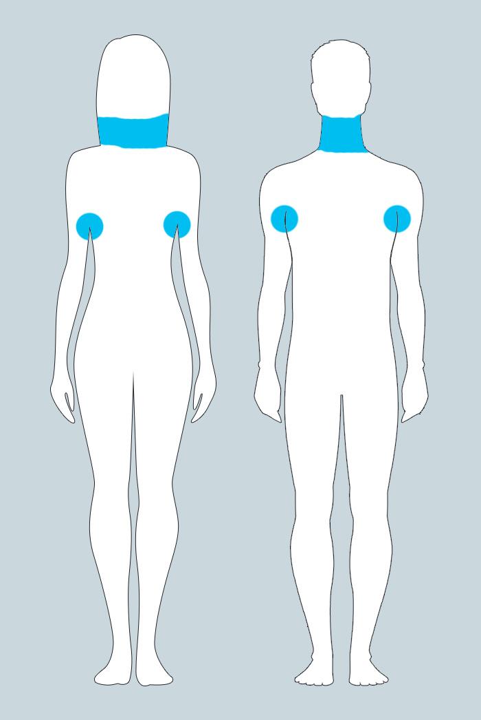 Изменения в лимфатических узлах у женщин и мужчин