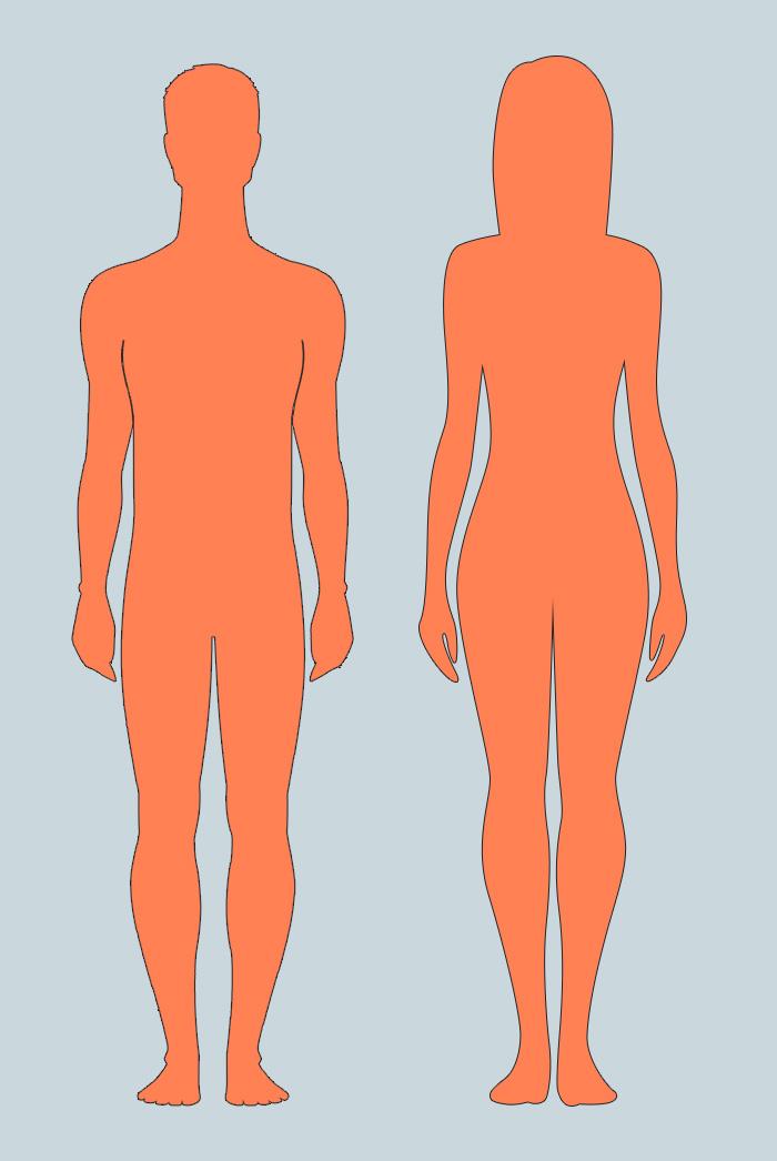 Изменения на коже у женщин и мужчин