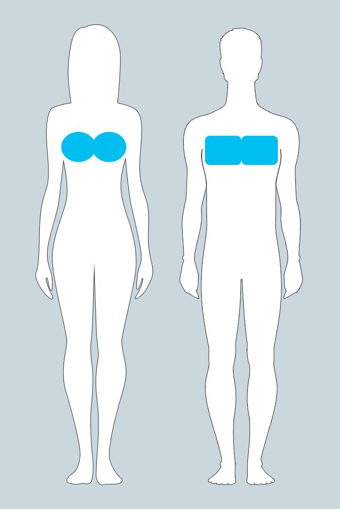 Изменения в груди у женщин и мужчин