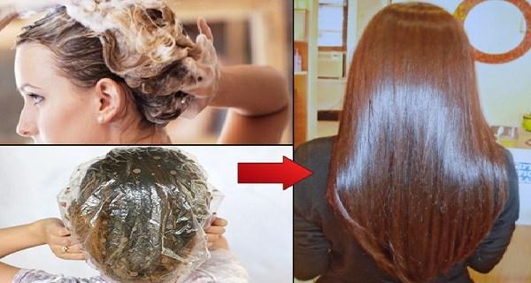 Нанести эту маску на волосы и подождите 15 минут — эффект вас взбудоражит!