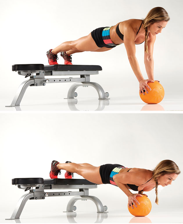 medicine-ball-decline-push-up