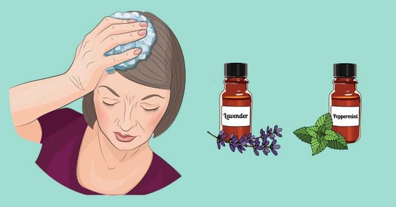 Ароматерапия при мигрени: смеси эфирных масел от головной боли