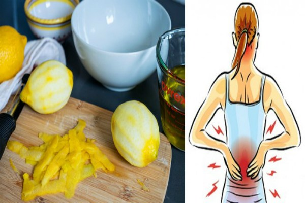 Цедра лимона избавит от боли в суставах навсегда!