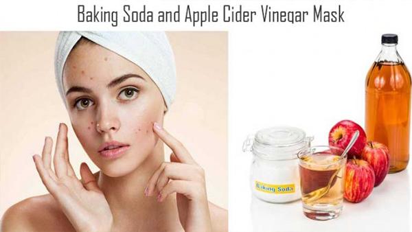 Решите все проблемы с кожей, благодаря маски из соды и яблочного уксуса!