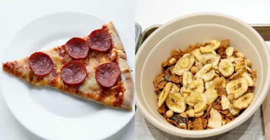 Согласно науке, употребление пиццы более полезно, чем хлопья? В самом