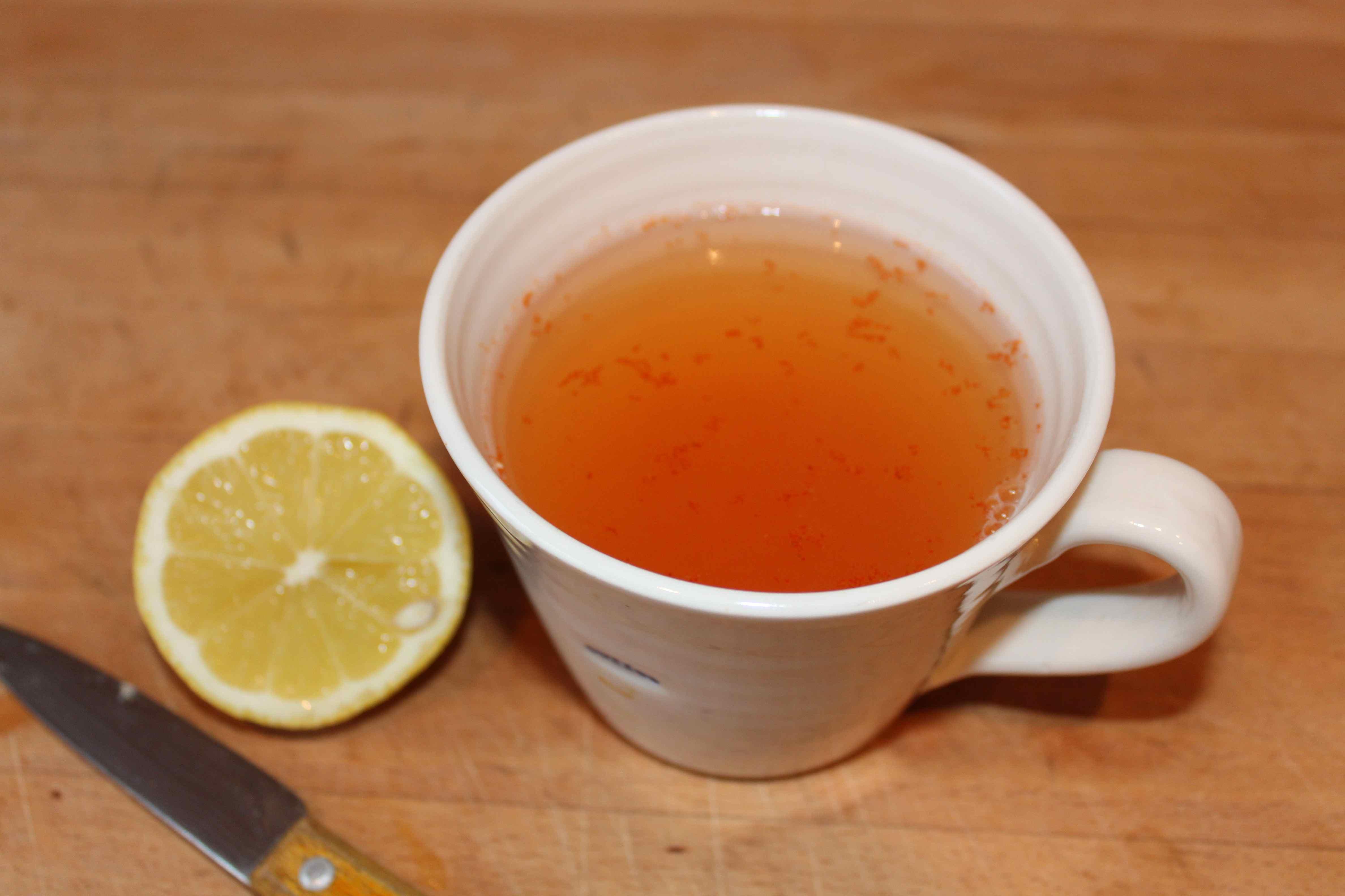 Кайенский перец и вода с лимоном - самый мощный напиток для детоксикац