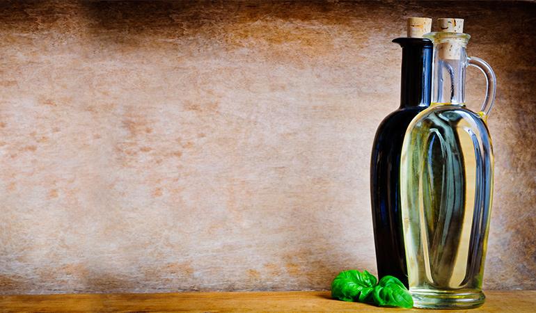 Раствор уксуса и спирта